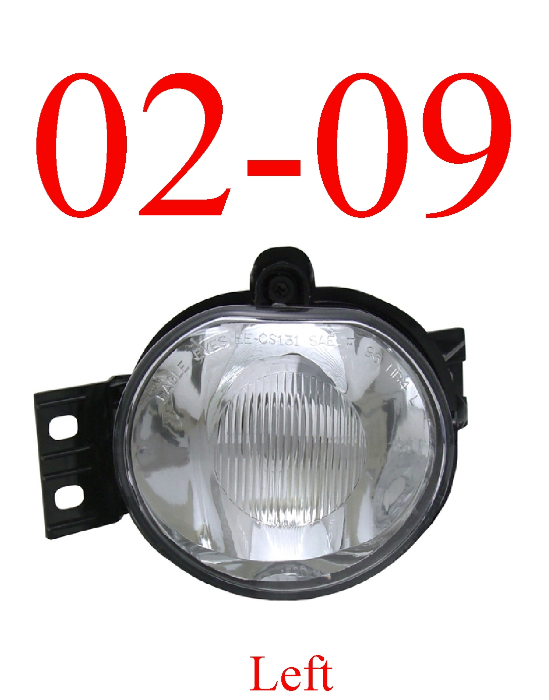 02-09 Dodge Left Fog Light Assembly