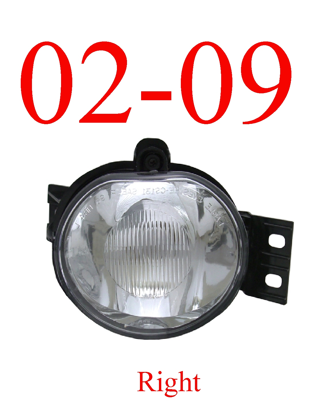02-09 Dodge Right Fog Light Assembly