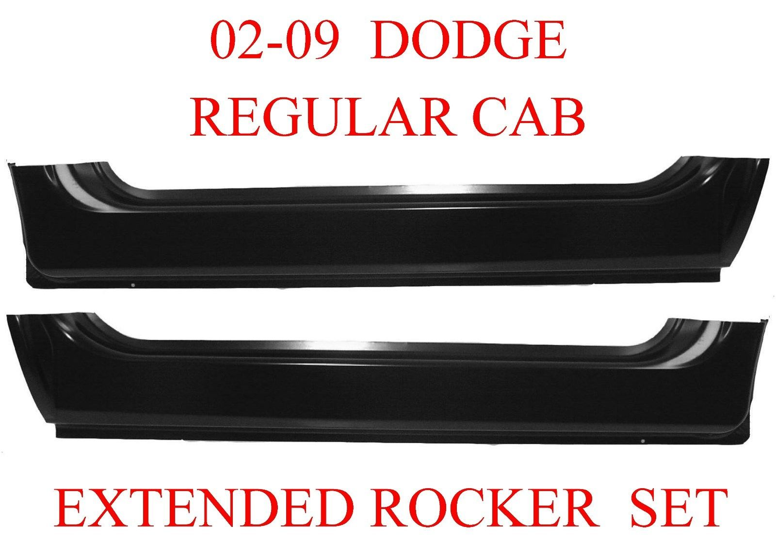 02-09 Dodge Extended Rocker Set Regular Cab