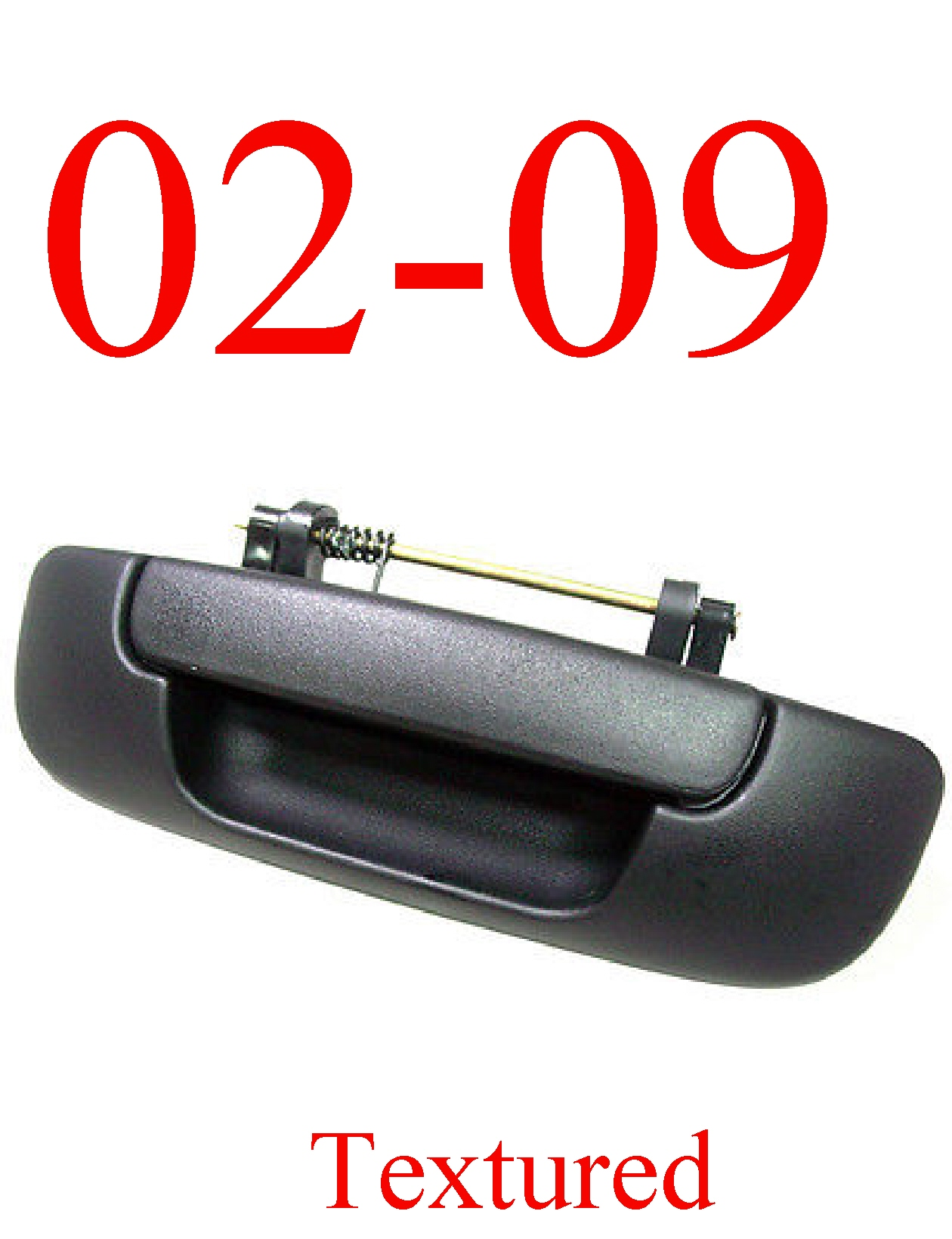 02-09 Dodge Textured Tail Gate Handle