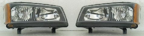 03-06 Chevy Truck Left & Right Head Light Set 2PC