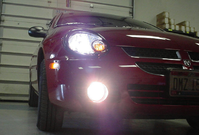 03 06 Dodge Neon High Beam Fog Light Conversion Kit