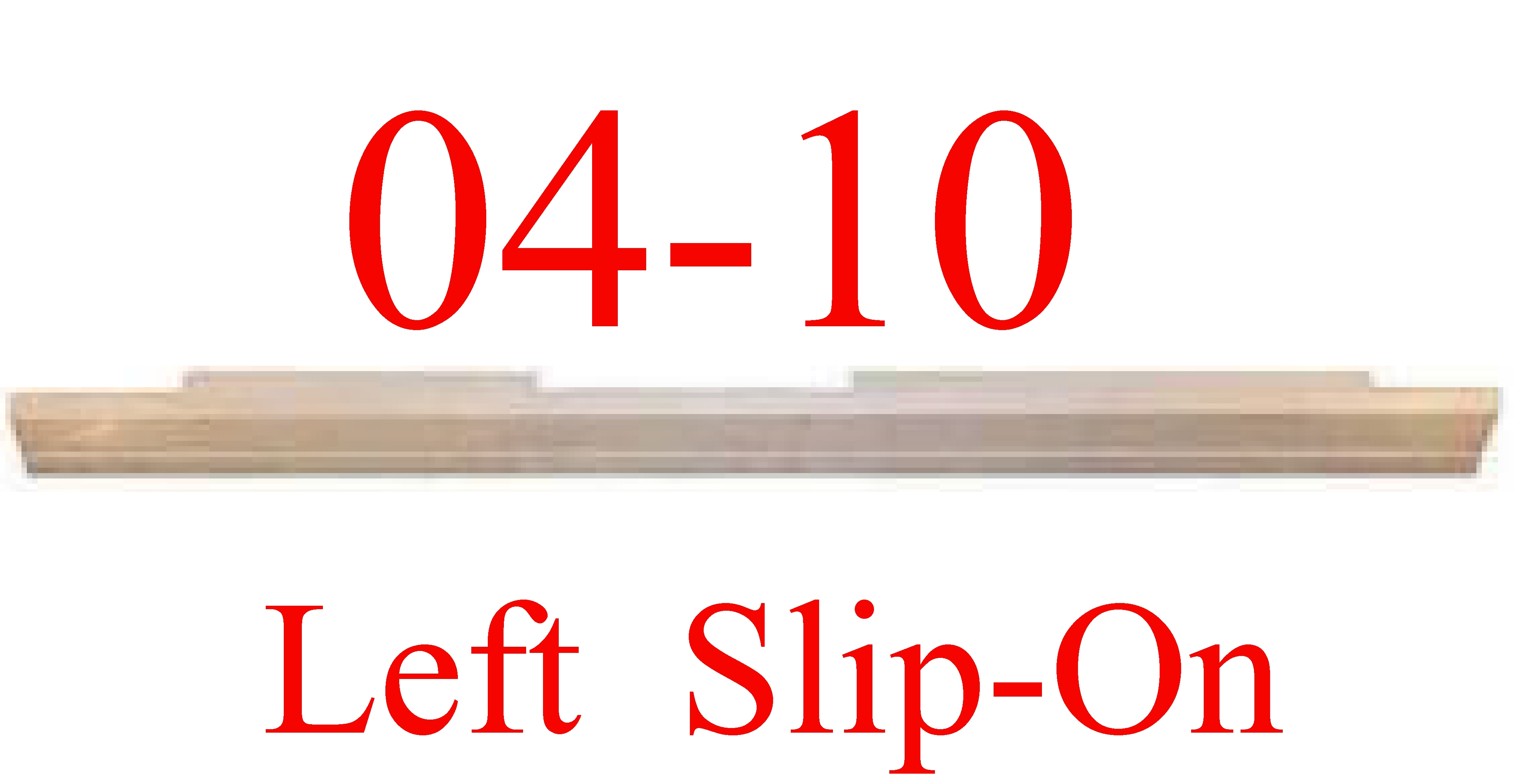 04 08 LEFT F150 Extended Cab Slip-On Rocker Panel
