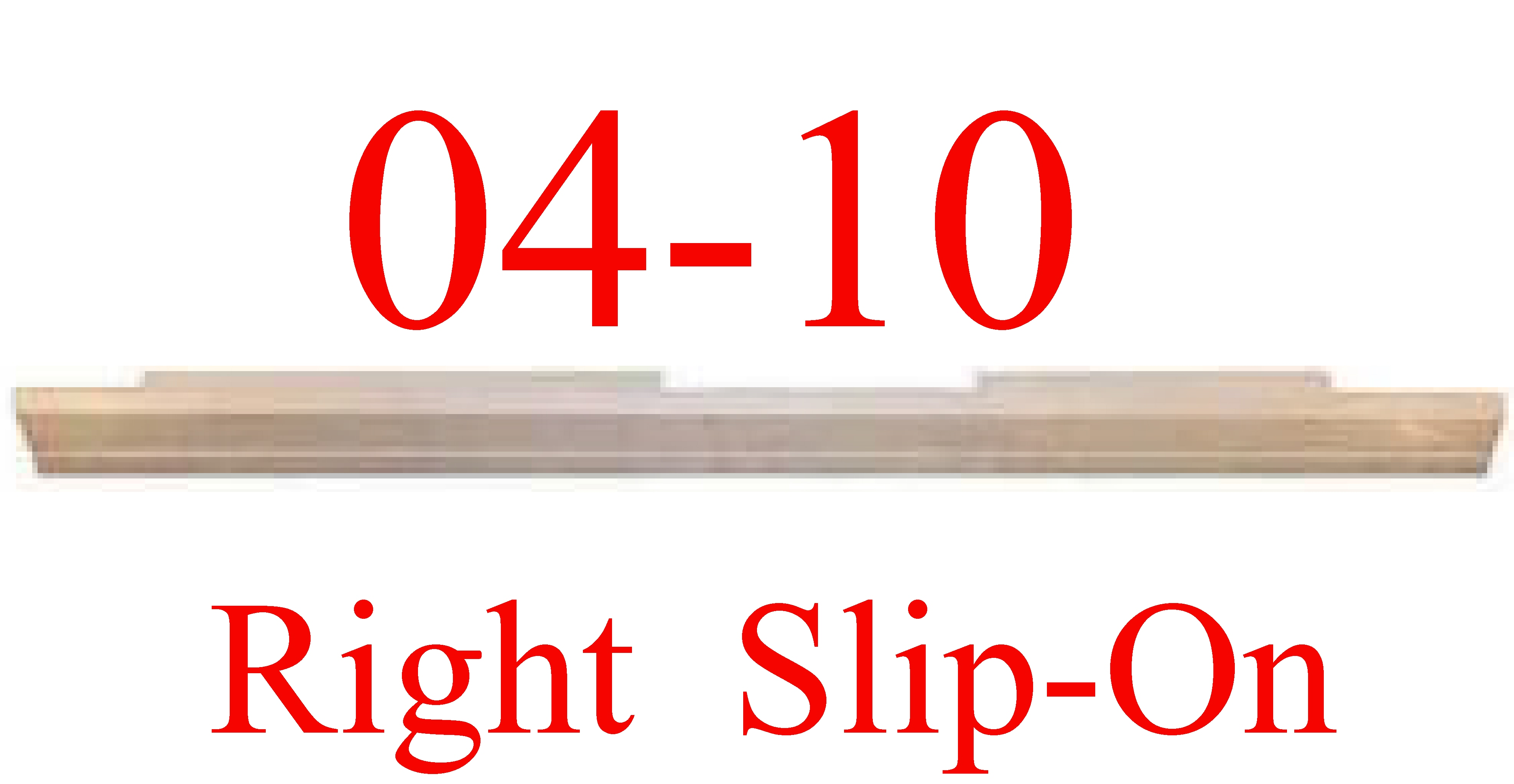 04 08 RIGHT F150 Extended Cab Slip-On Rocker Panel
