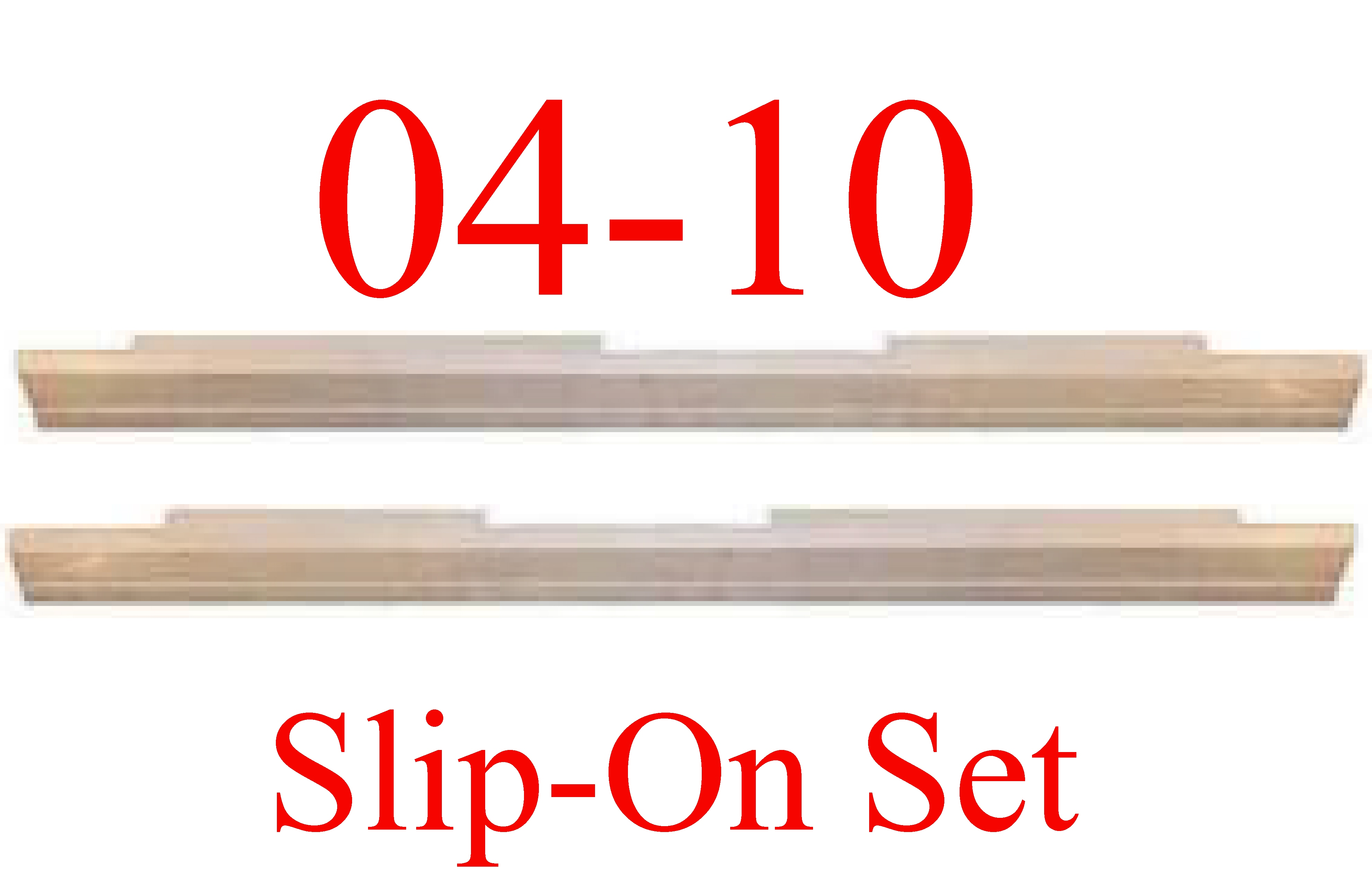 04 08 F150 Extended Cab Slip-On Rocker Panel Set