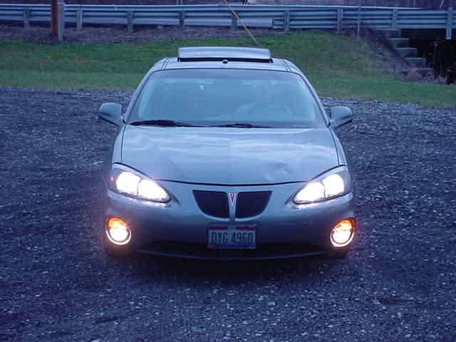 04 & Up Pontiac Grand Prix High Beam Kit