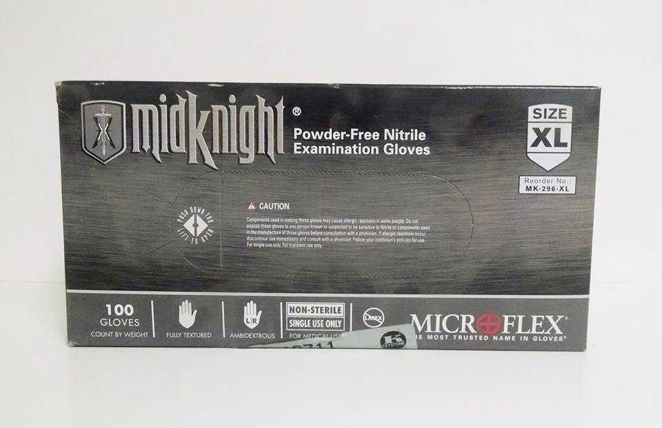 MidKnight Microflex Gloves