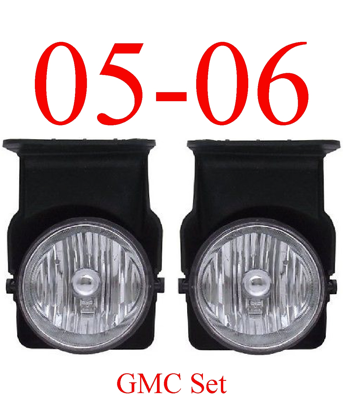 05-06 GMC Truck Fog Light Set