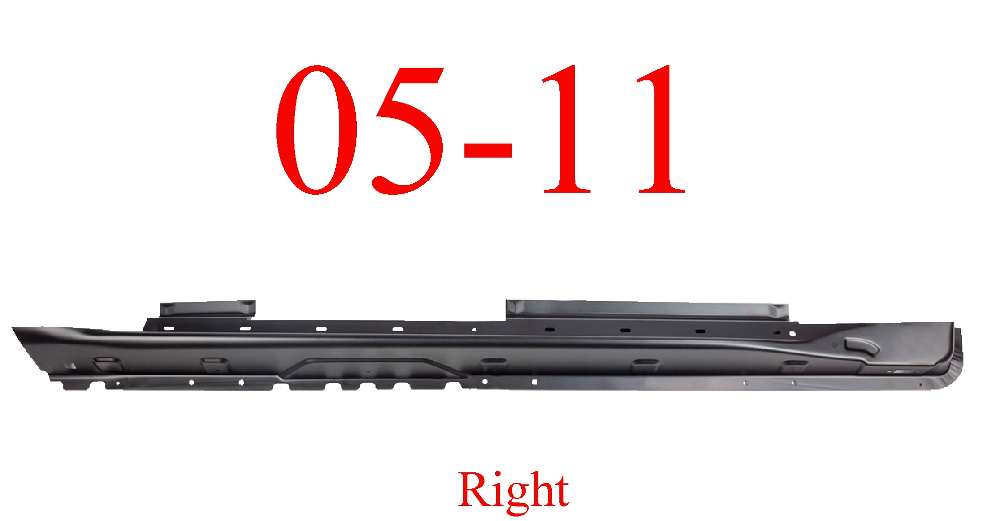 05-11 Jeep Grand Cherokee Right Extended Rocker Panel