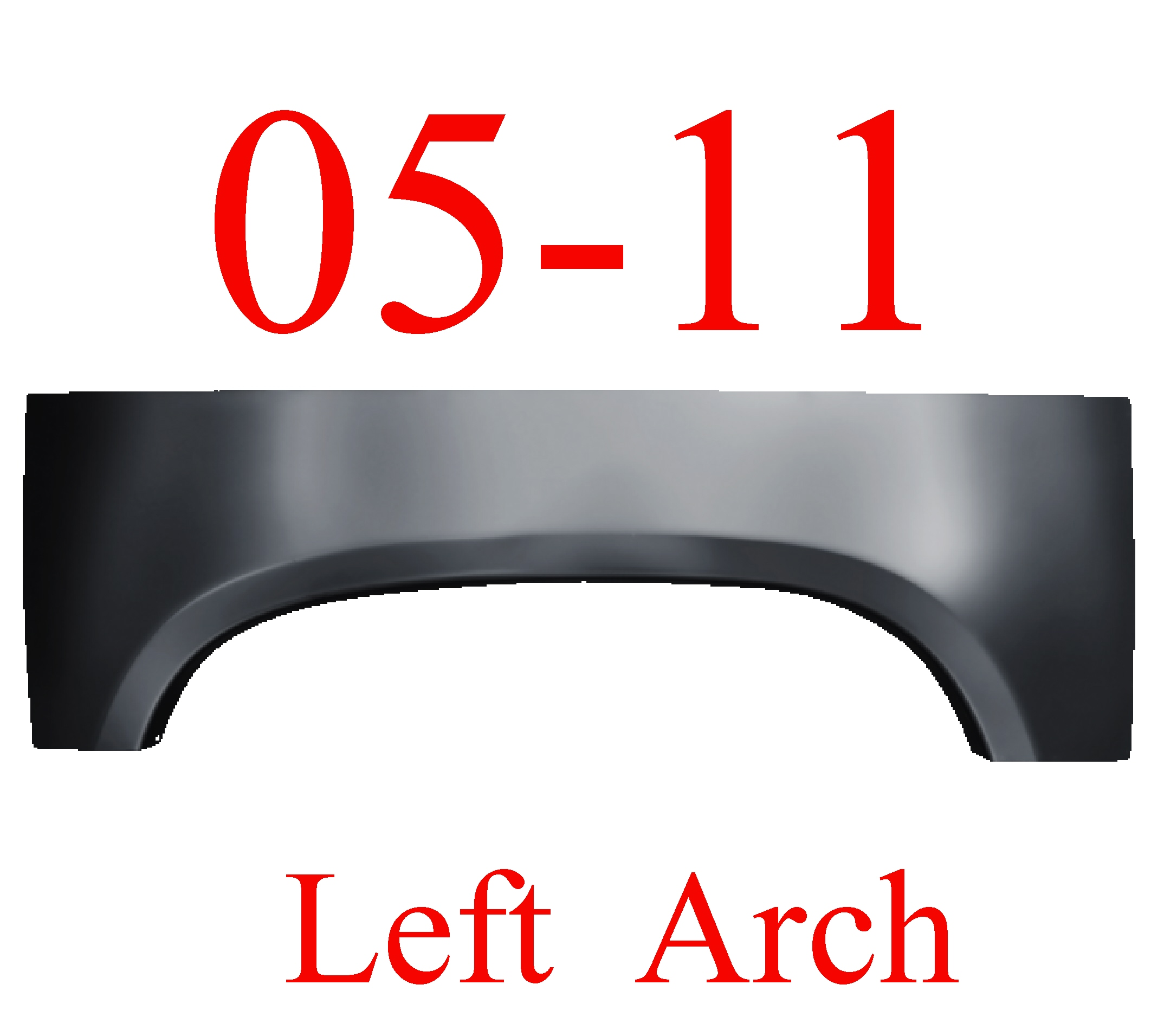 05-11 Dodge Dakota LEFT Upper Arch