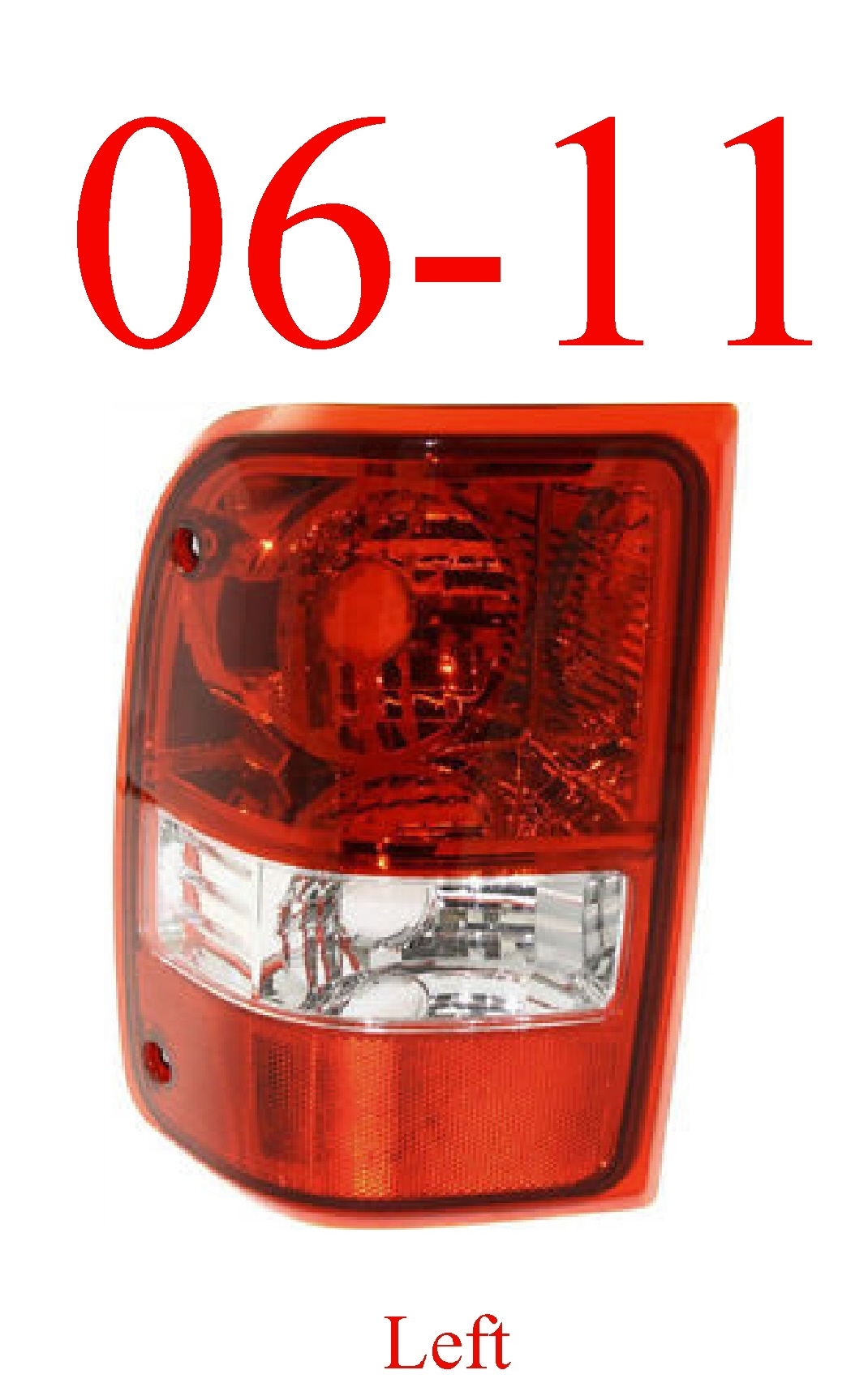 06-11 Ranger Left Tail Light Assembly