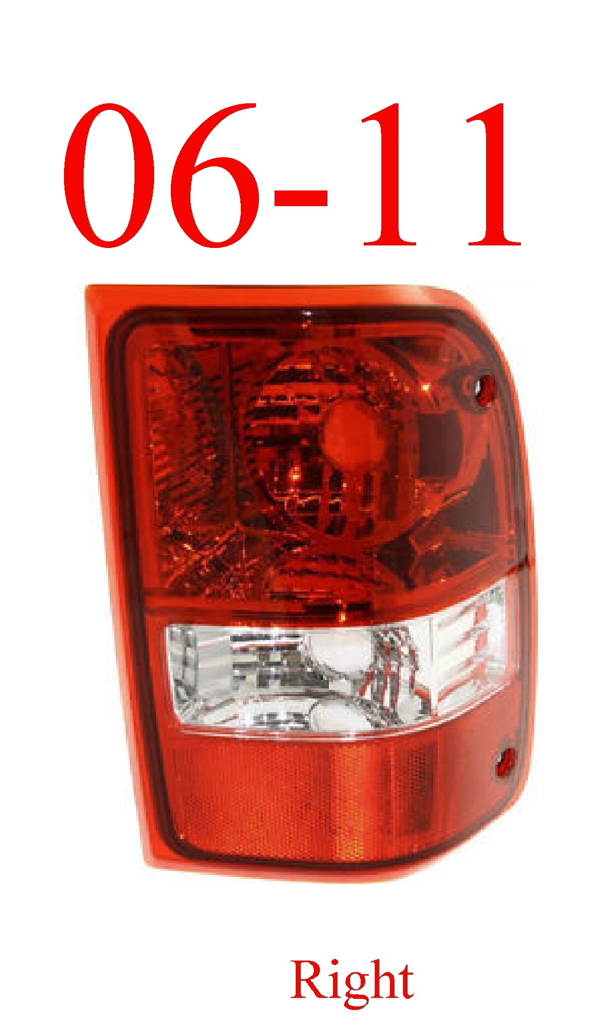 06-11 Ranger Right Tail Light Assembly