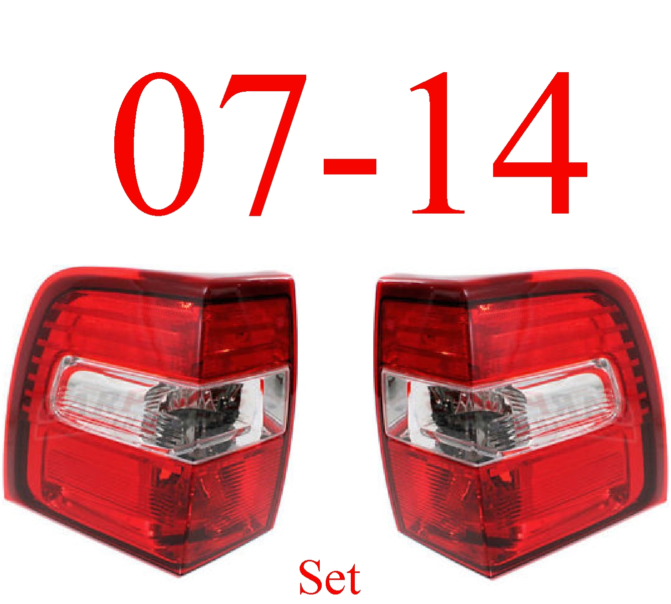 07-14 Ford Expedition Tail Light Set