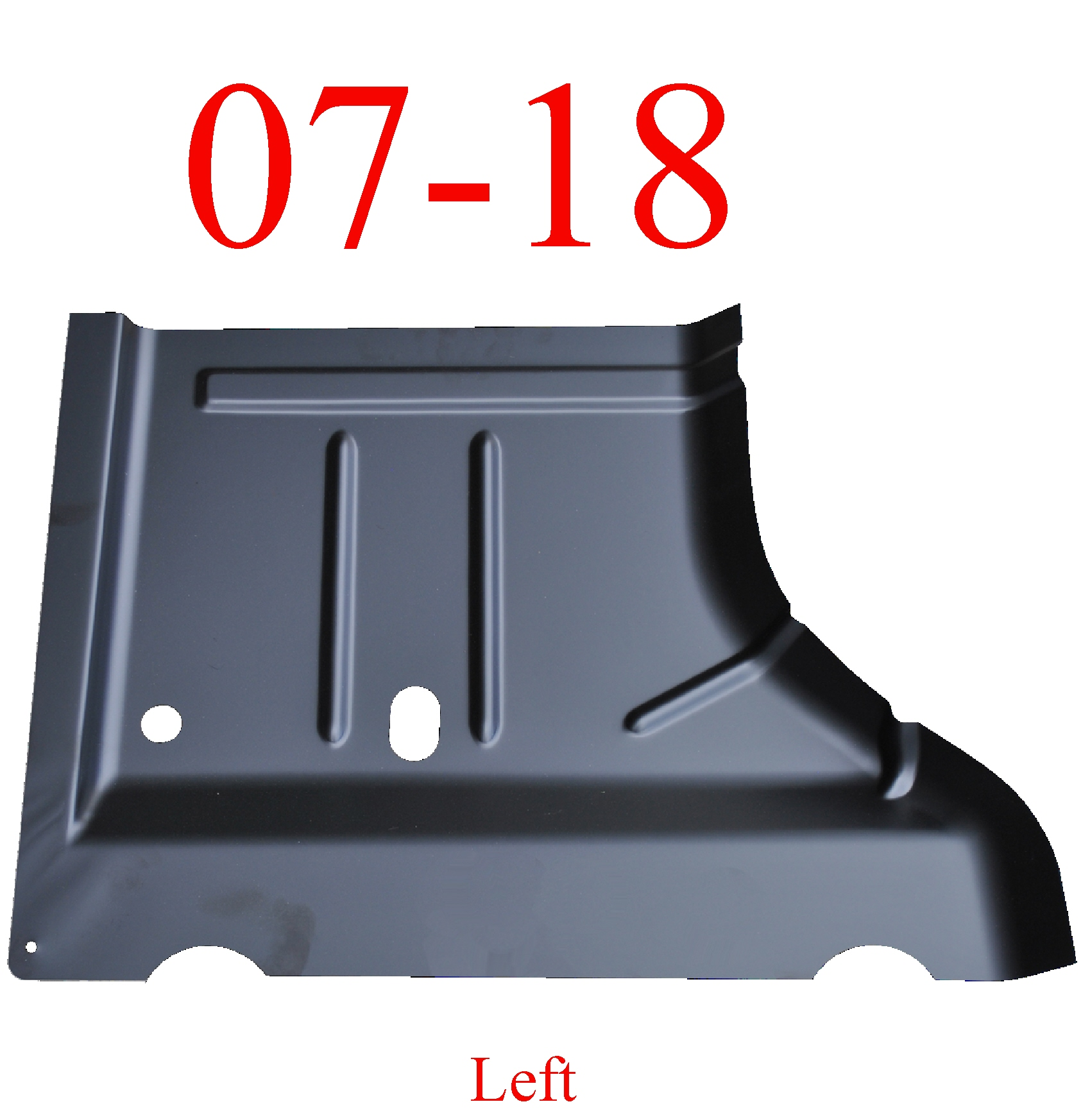 07 & Up Jeep Wrangler JK Left Rear Floor Pan