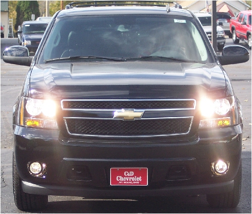 07 & Up GMC Yukon High Beam Fog Light Kit