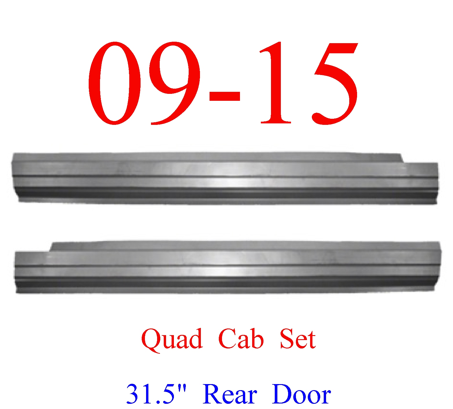09-15 Ram Outer Rocker Panel Set, Quad Cab, Ram Truck
