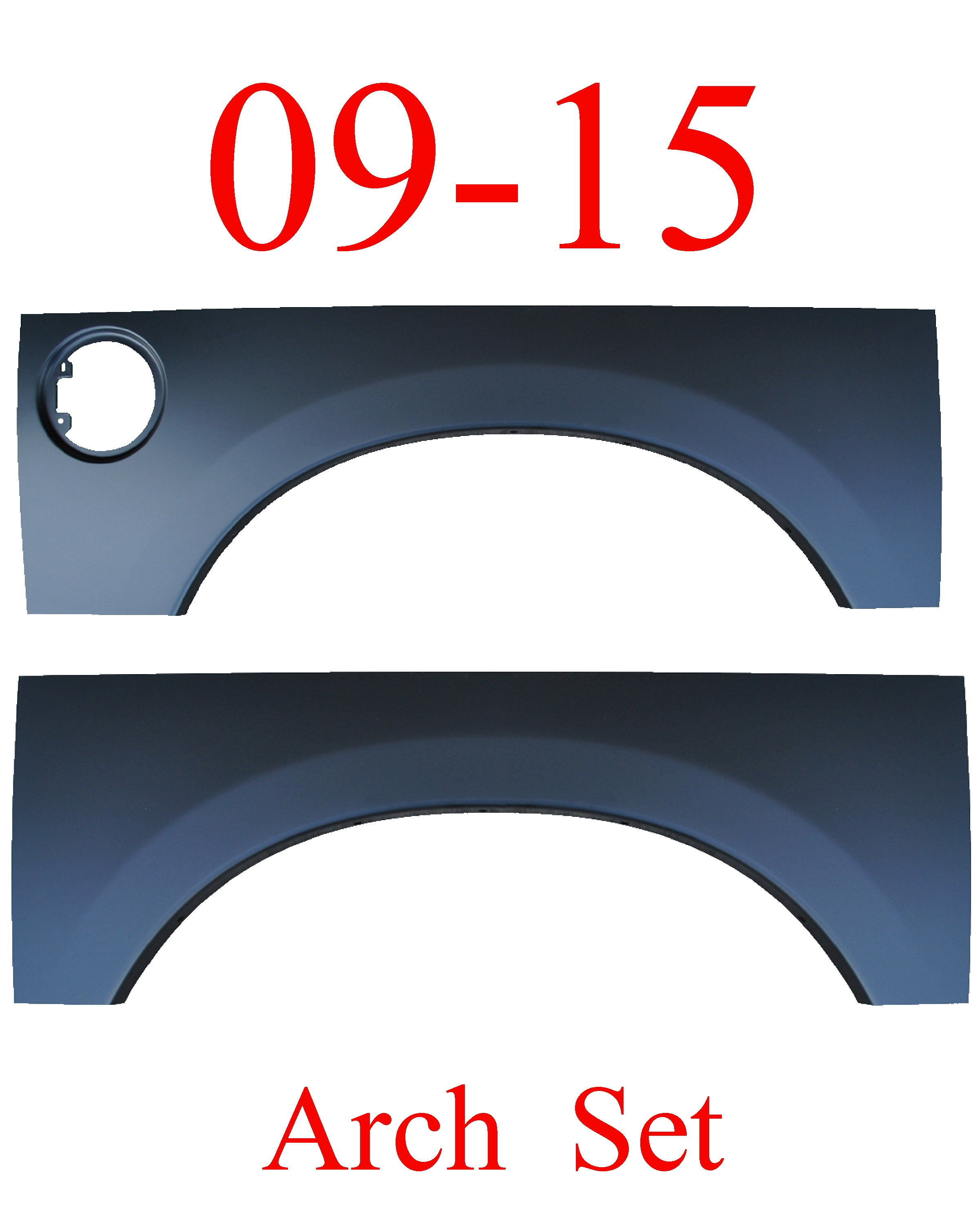 09-15 Ram Upper Wheel Arch Set