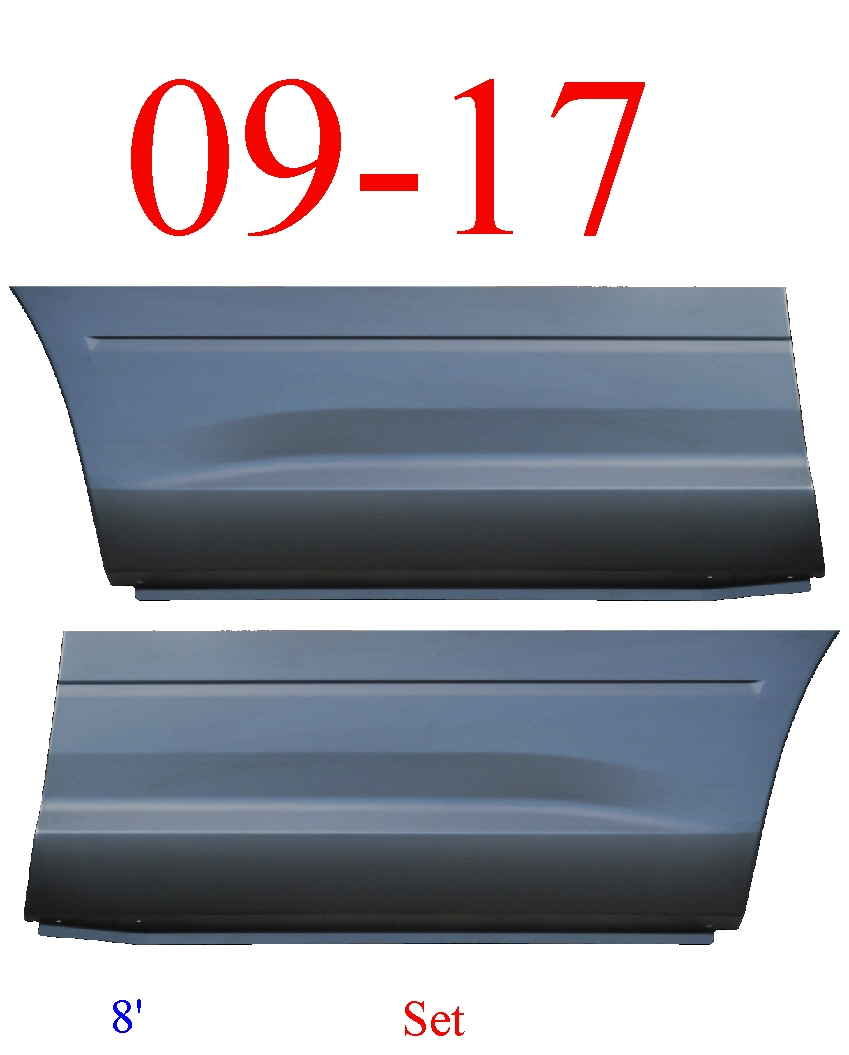 09-17 Ram 8' Front Lower Bed Patch Set
