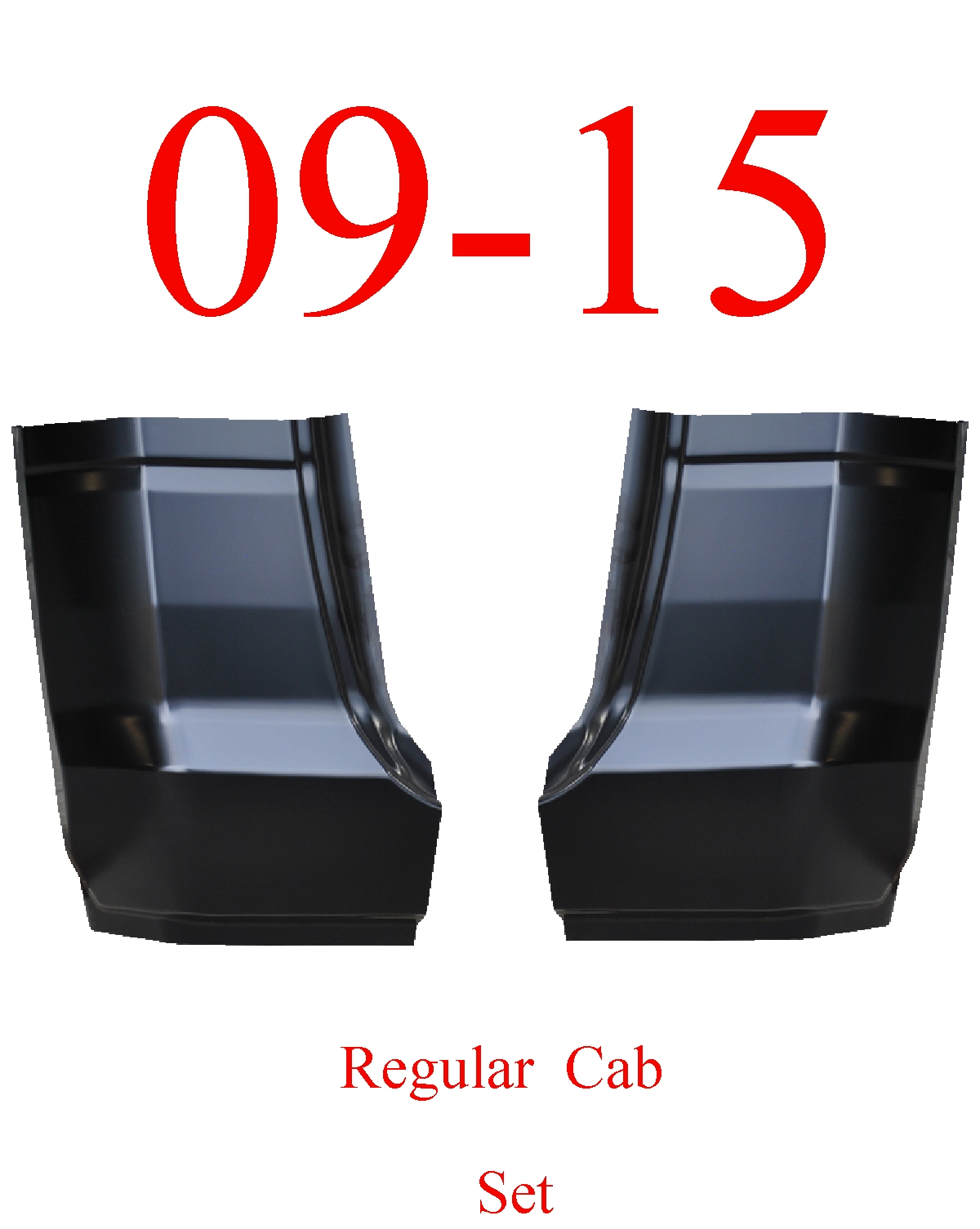 09-15 Ram Regular Cab Corner Set
