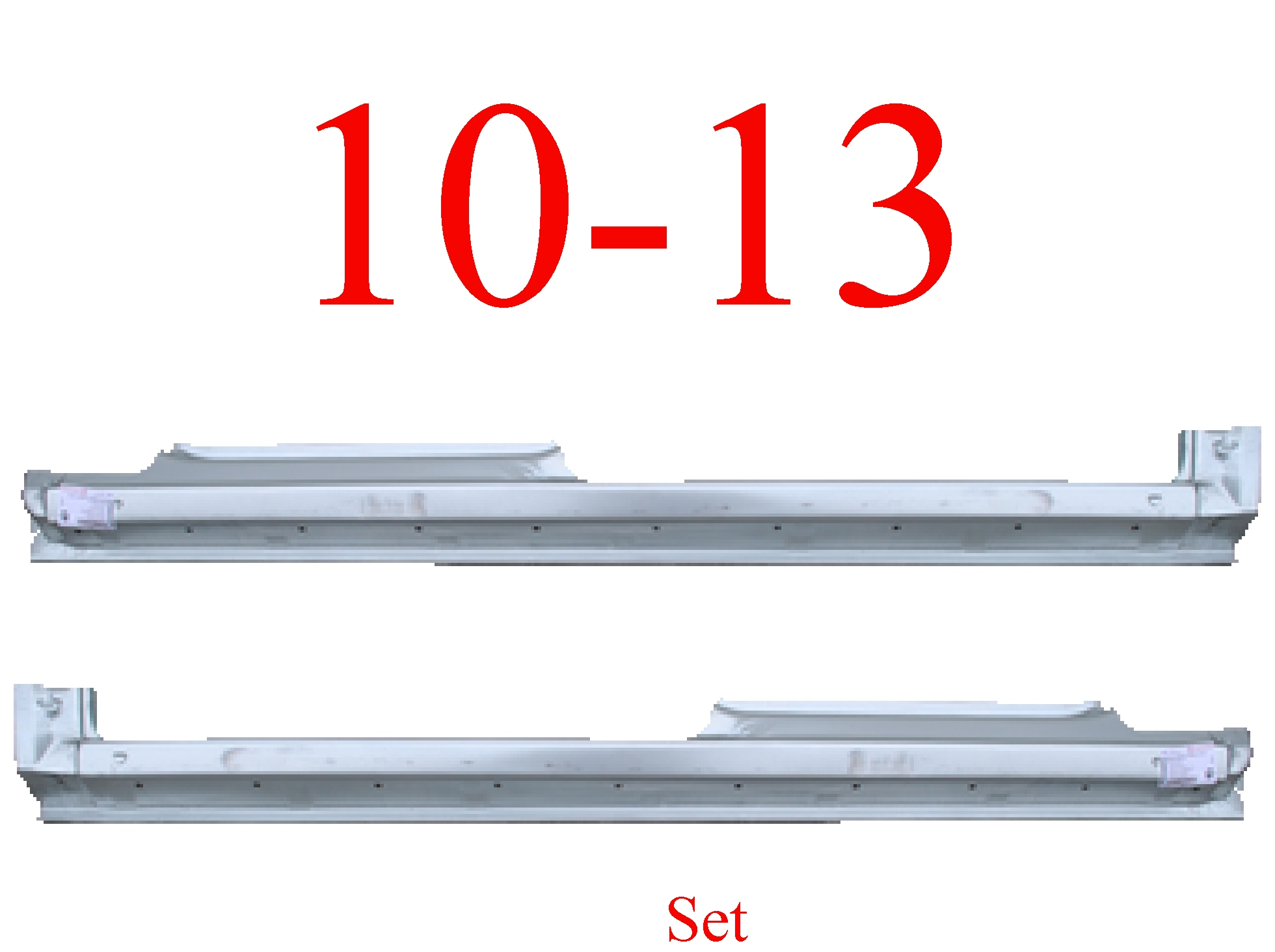 10-13 Ford Transit Connect Extended Rocker Panel Set