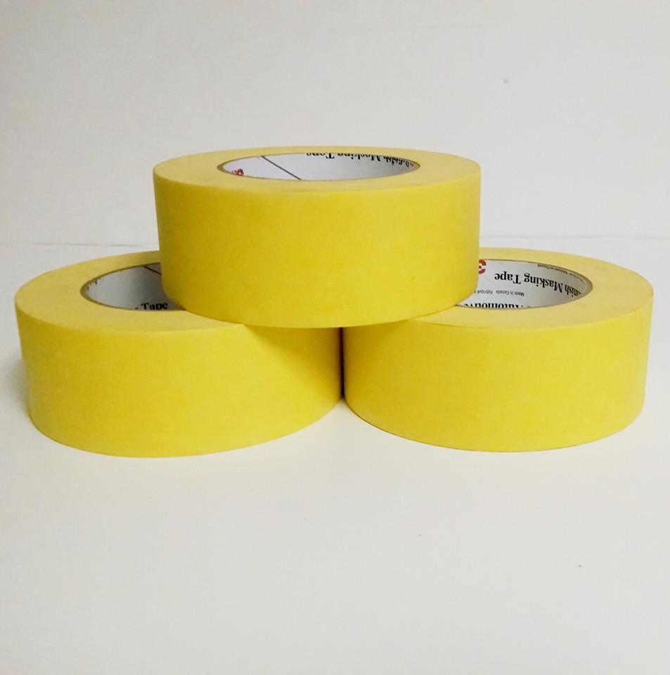 "2"" Yellow 3M Masking Tape"