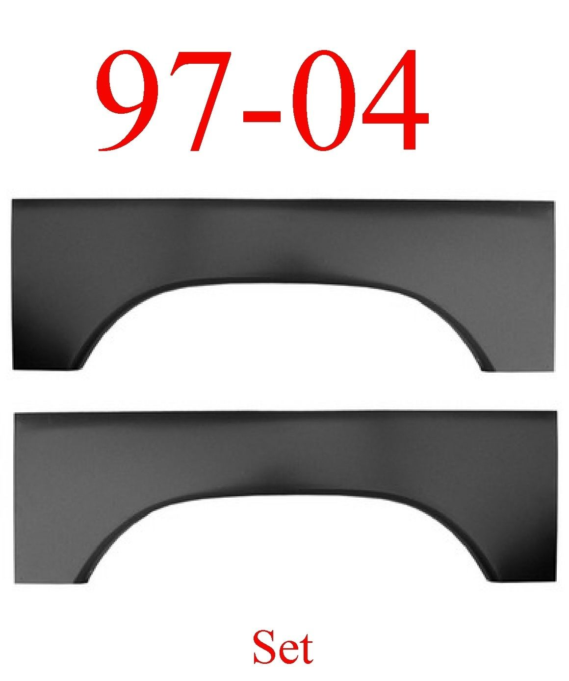 97-04 Dodge Dakota Upper Wheel Arch Set