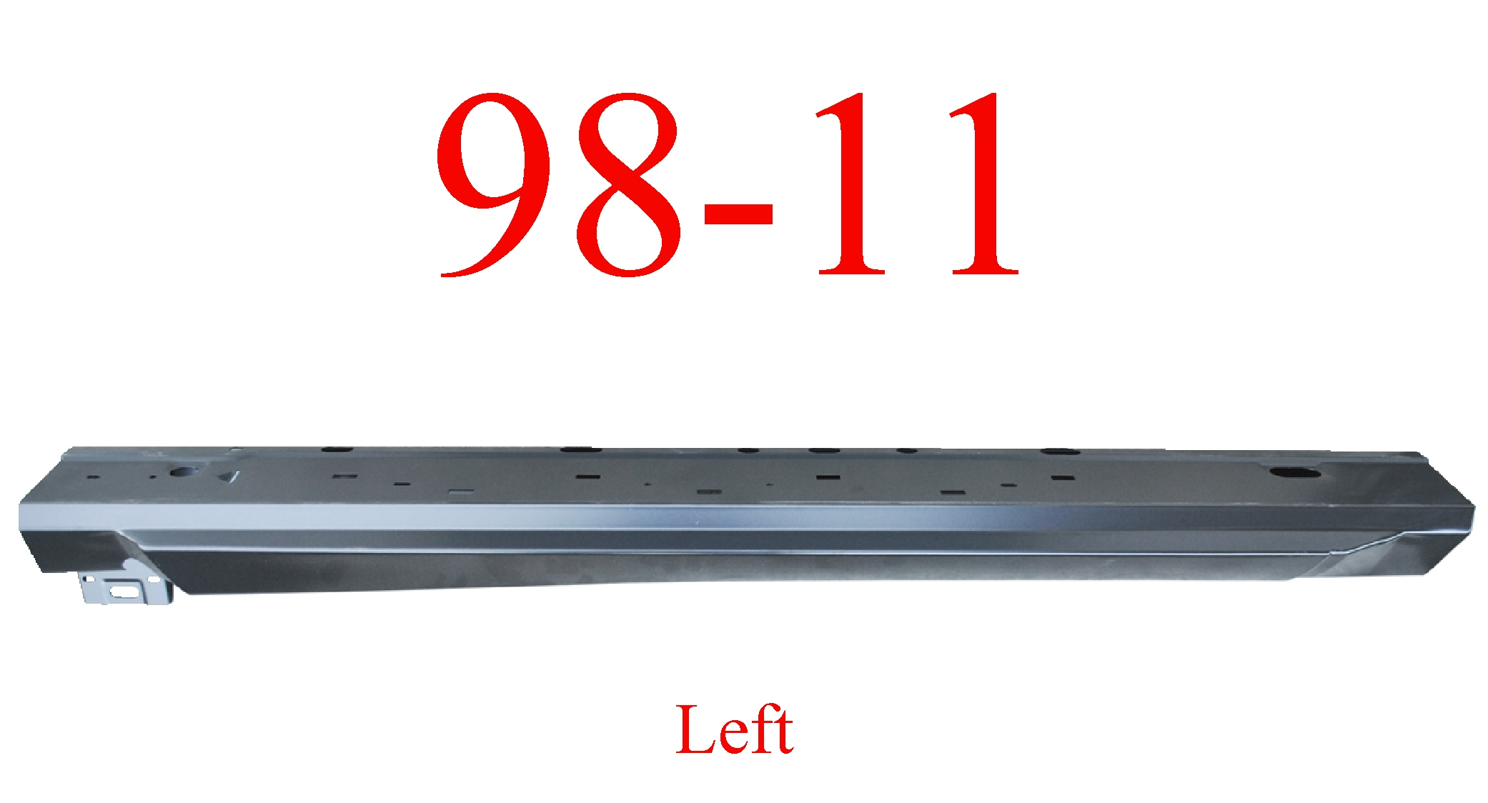 98-11 Ranger Left Regular Cab Extended Rocker Panel