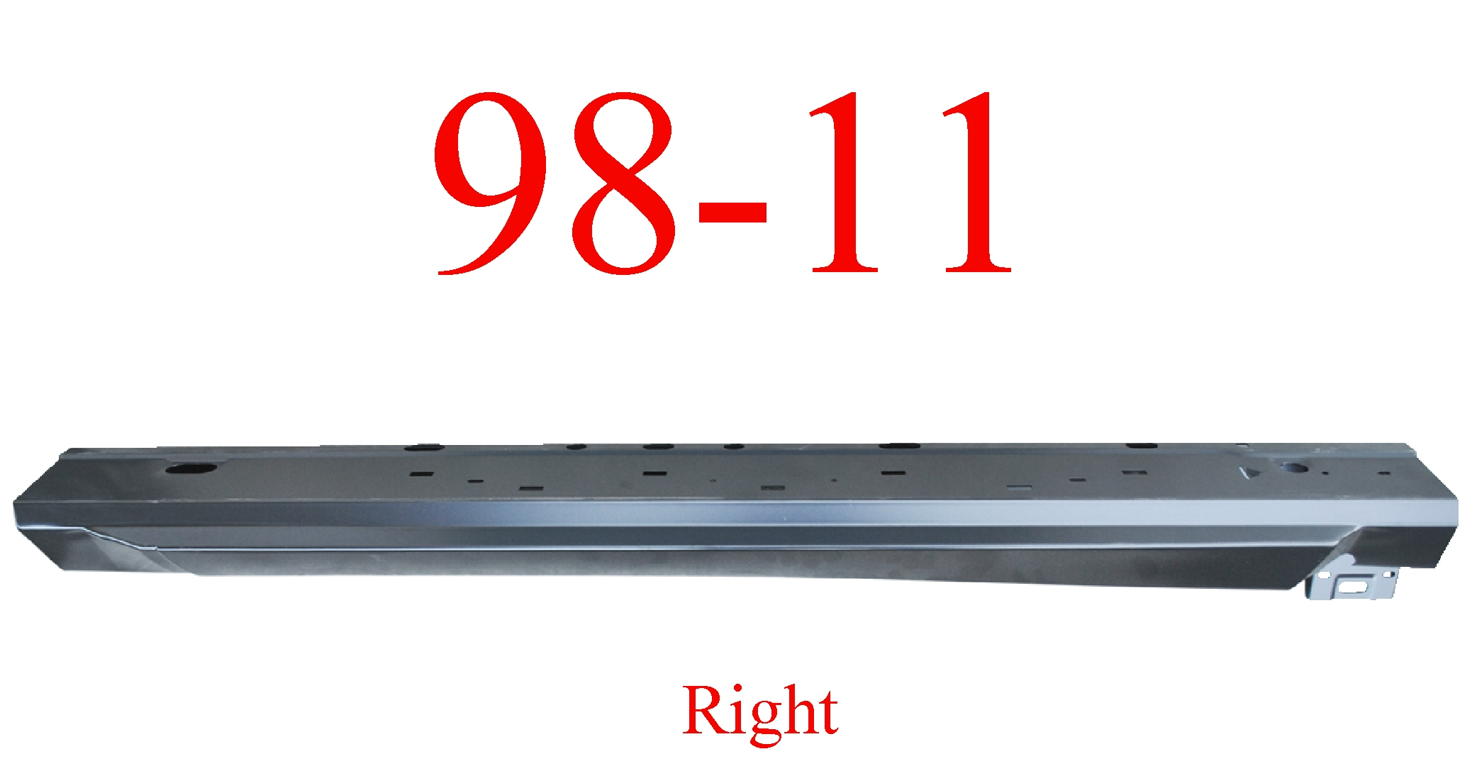 98-11 Ranger Right Regular Cab Extended Rocker Panel