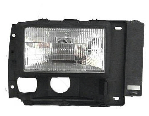 89-92 Ranger/91-94 Explorer/89-90 Bronco II Left Head Light Asse