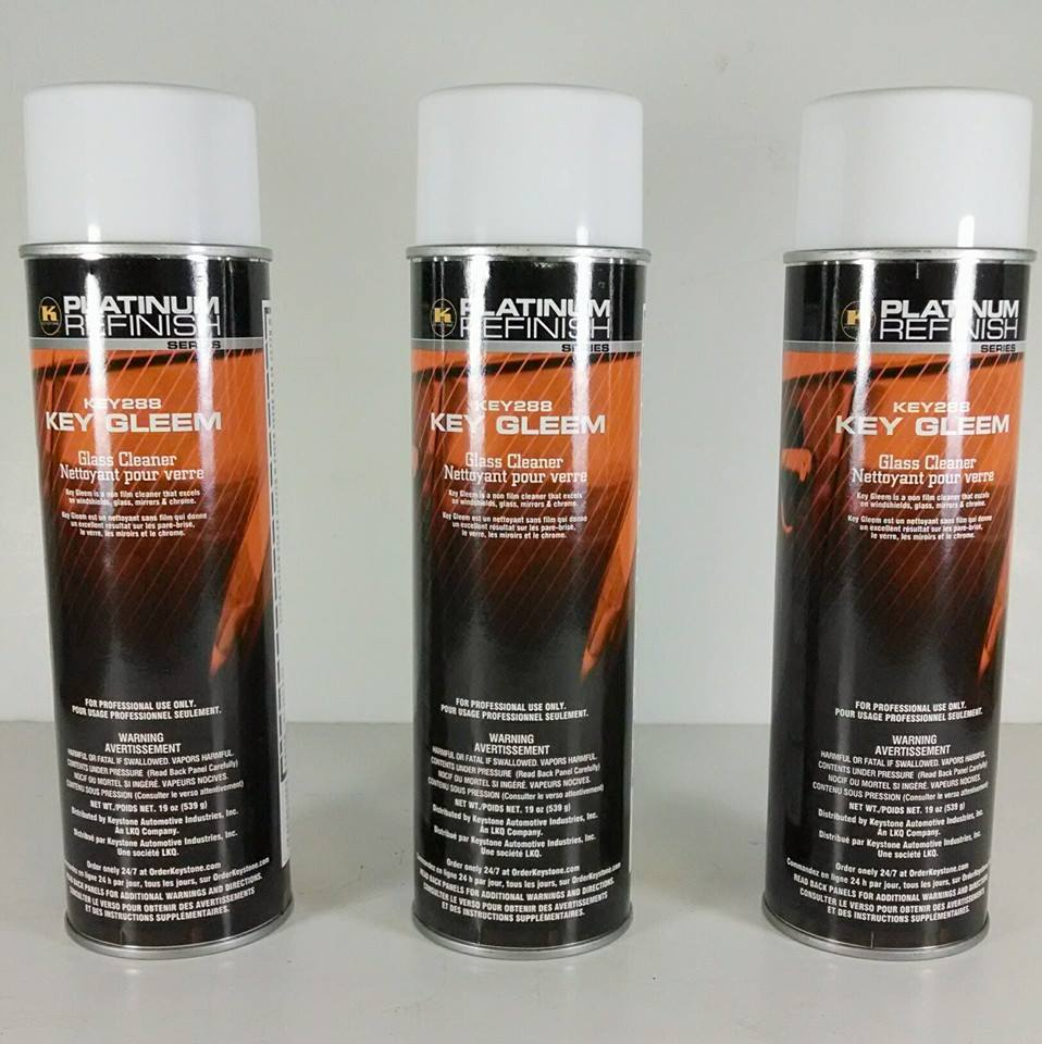 Platinum Refinish Glass Cleaner