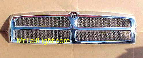 94-01 Dodge Truck Chrome Grill & Emblem