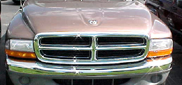 97-04 Dakota 98-03 Durango Chrome Grill