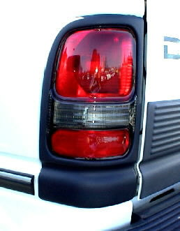 94-01 Dodge Truck Left Tail Light Assembly Non-Sport