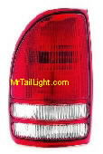 97-04 Dodge Dakota Left Tail Light Assembly