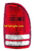 97-04 Dodge Dakota Right Tail Light Assembly