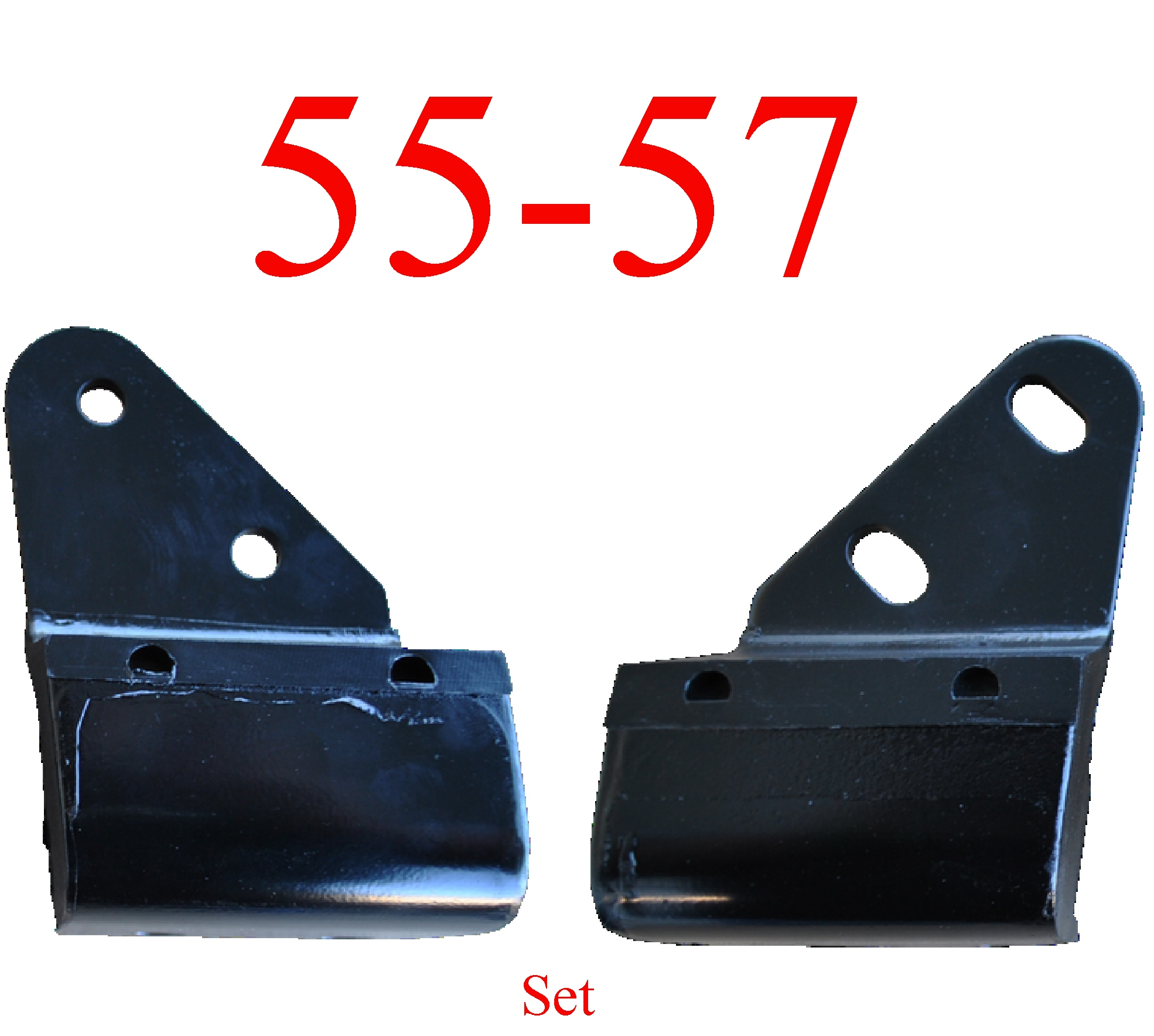 55-57 Chevy Bel Air 2Pc Transmission Mount Set