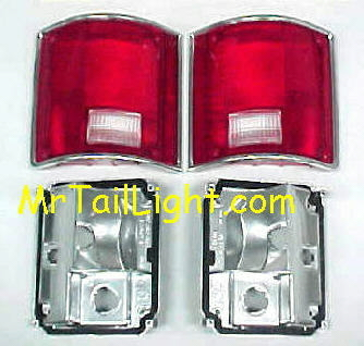 73-87 Chevy & GMC 4Pc Tail Light Kit With Gaskets