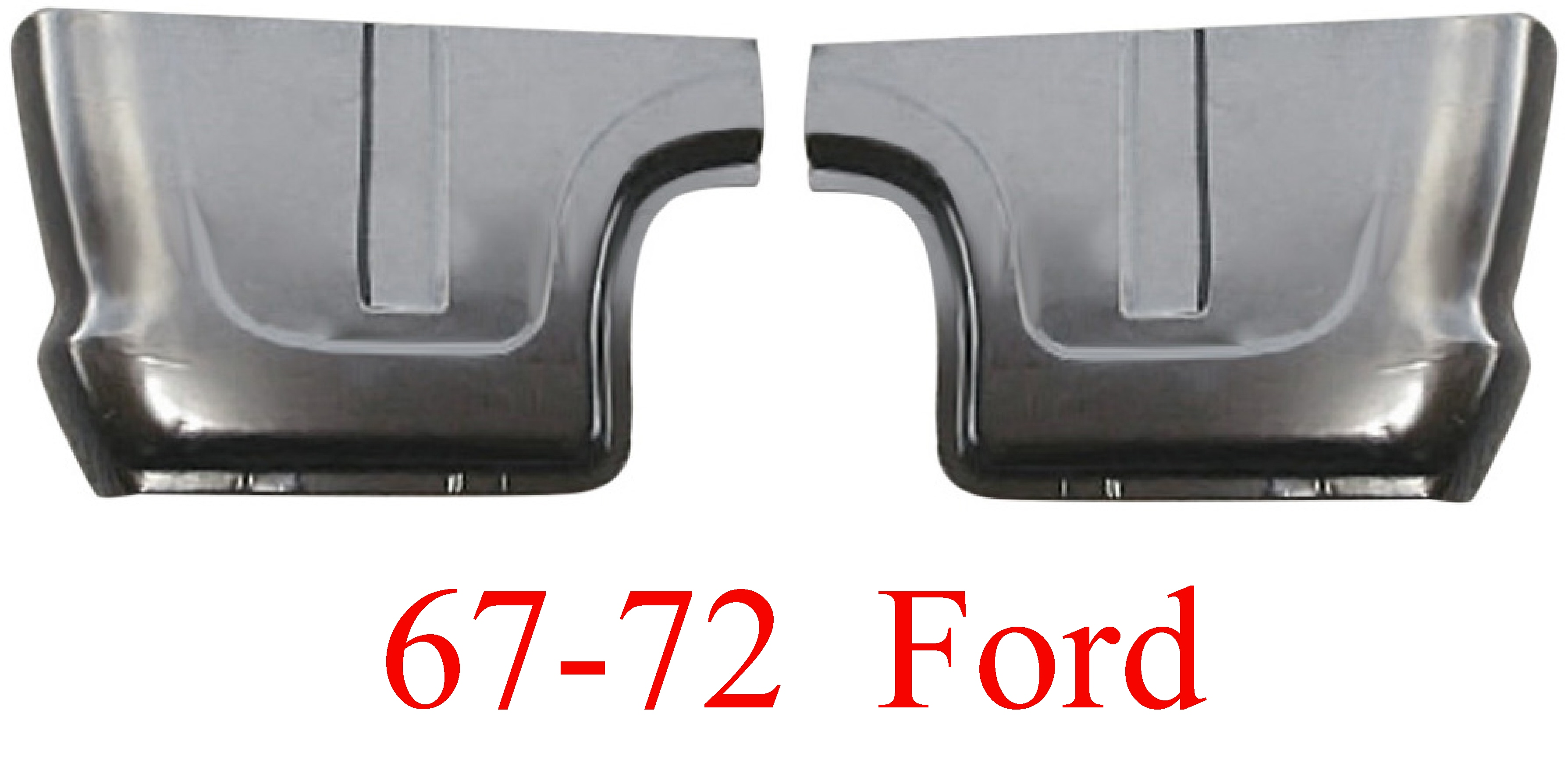 67-72 Ford Cab Corner Set