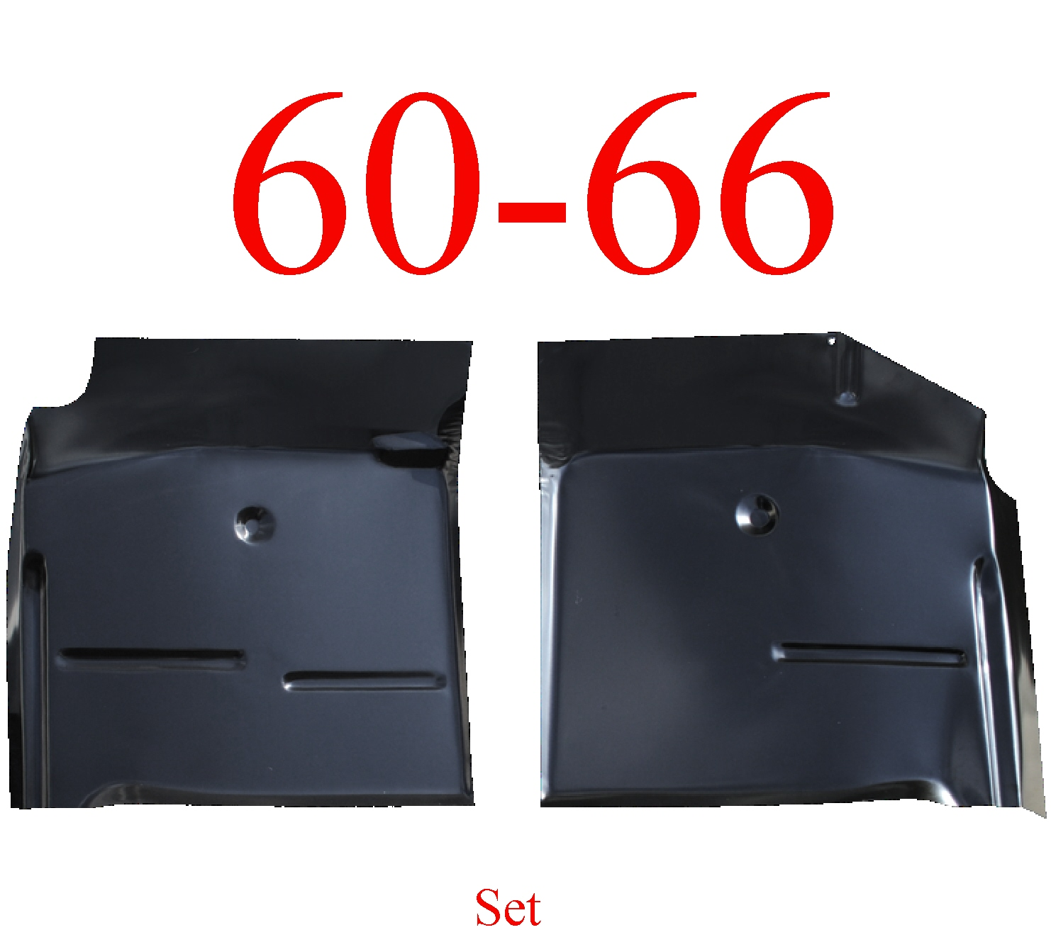 60-66 Chevy Floor Pan Set