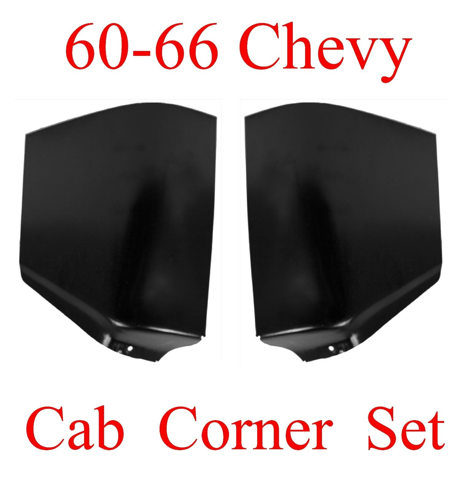 60 66 Chevy GMC Cab Corner Set