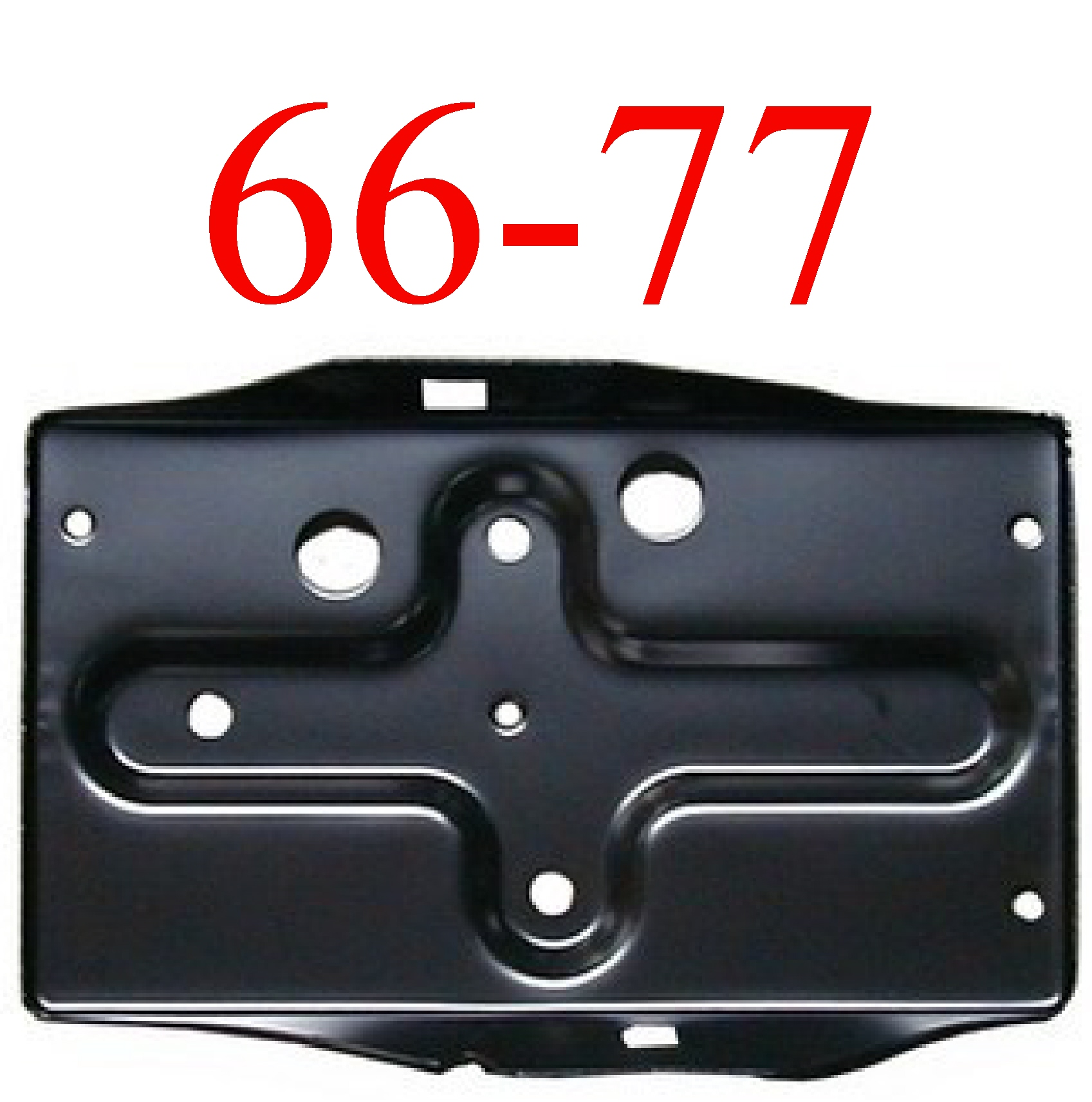 66-77 Ford Bronco Battery Tray Bottom