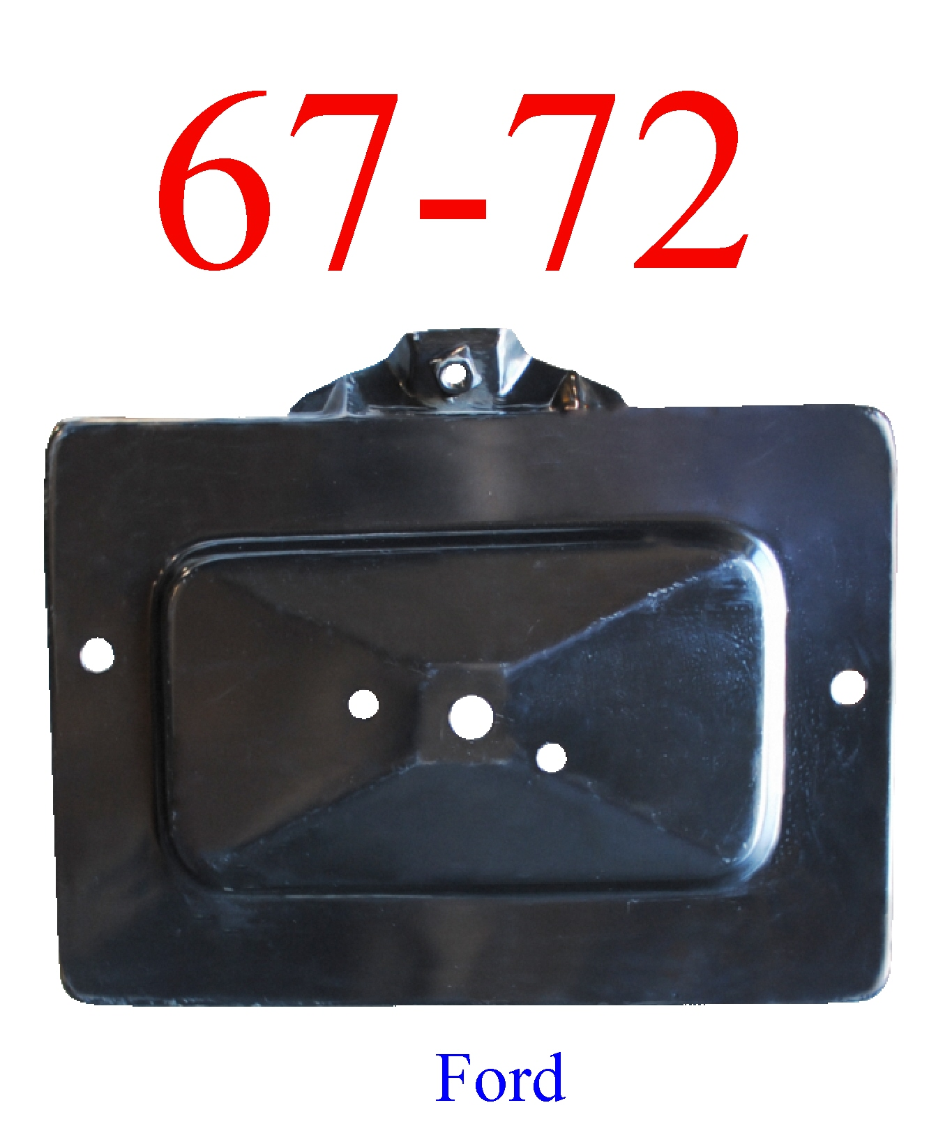 67-72 Ford Battery Tray Bottom
