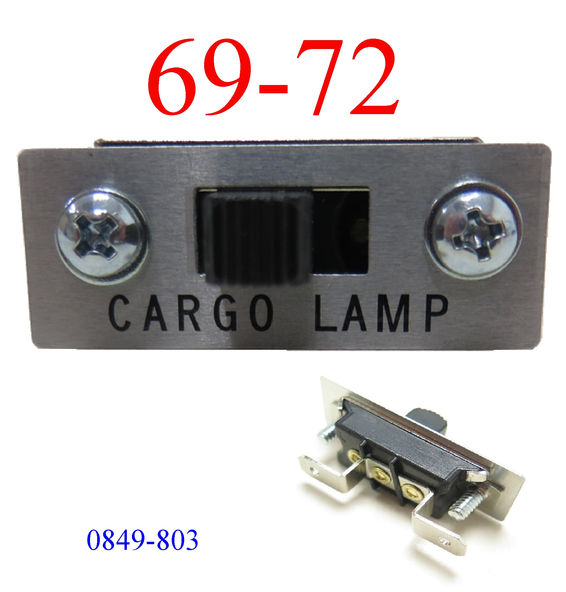 69-72 Chevy Truck Cargo Lamp Switch