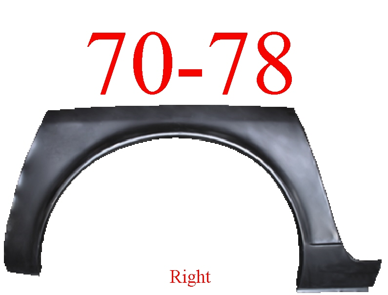 70-78 Datsun 240Z 260Z 280Z Right Wheel Arch & Dog Leg