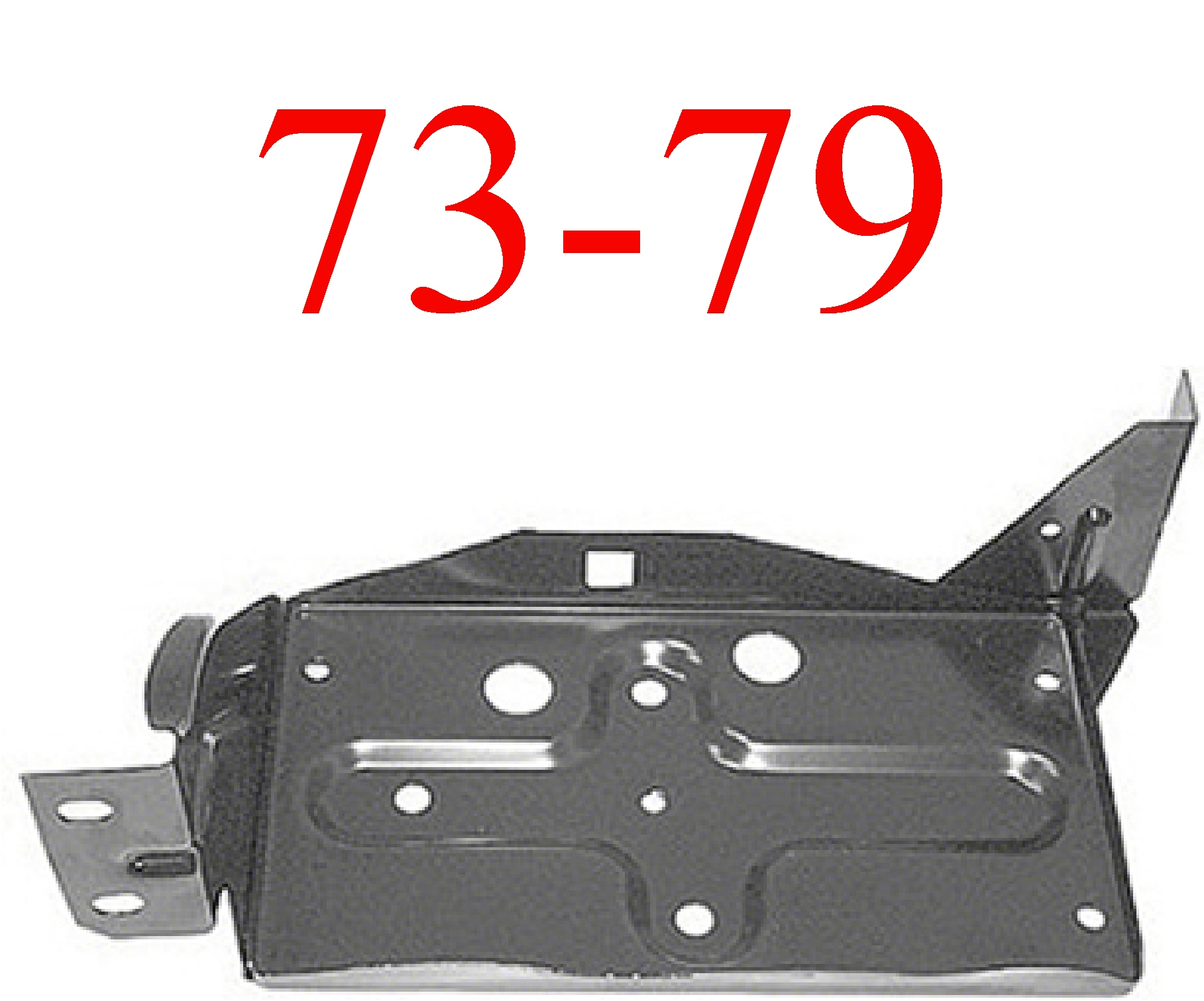 73-79 Ford Battery Box Assembly