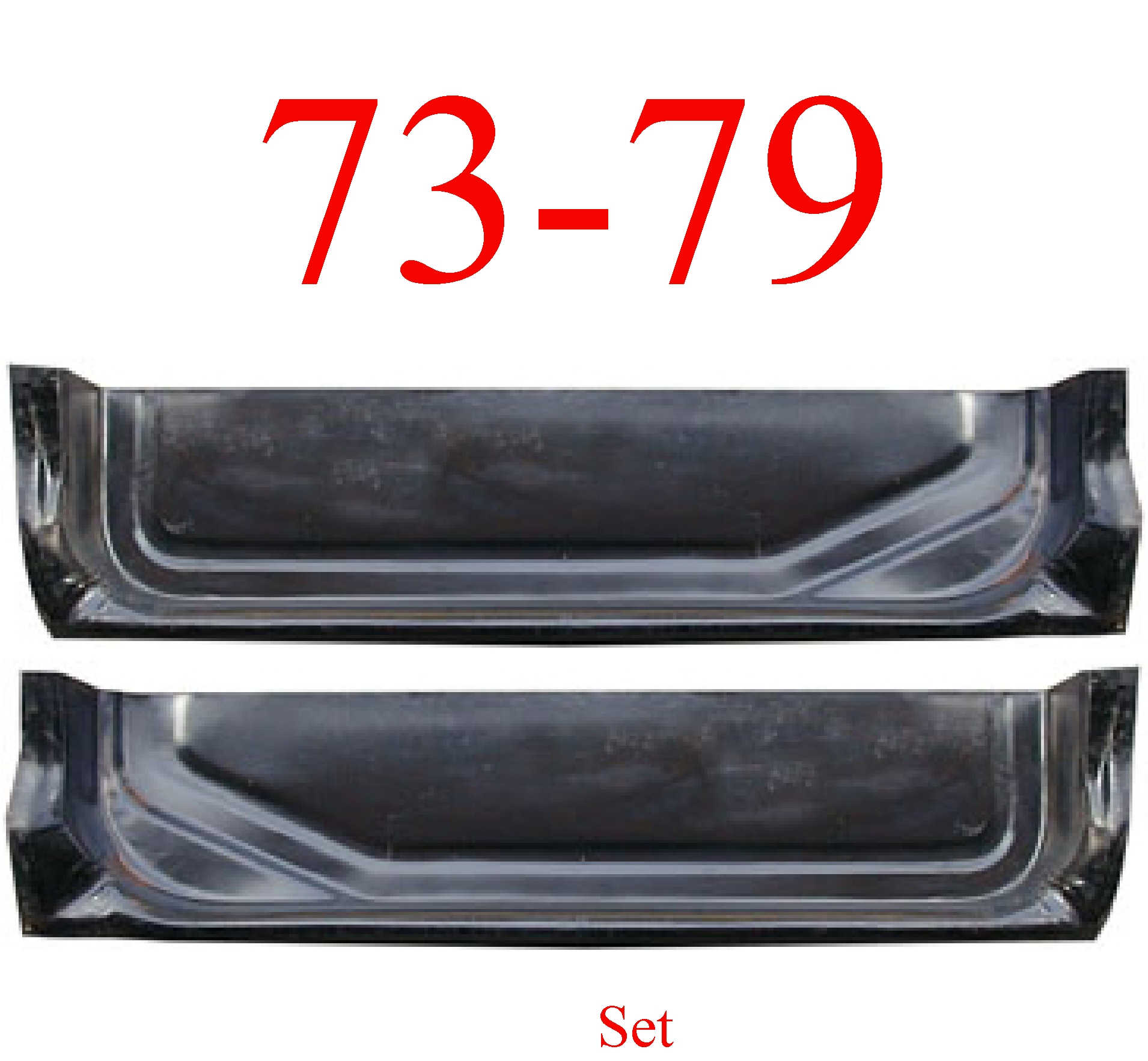 73-79 Ford Door Inner Bottom Set