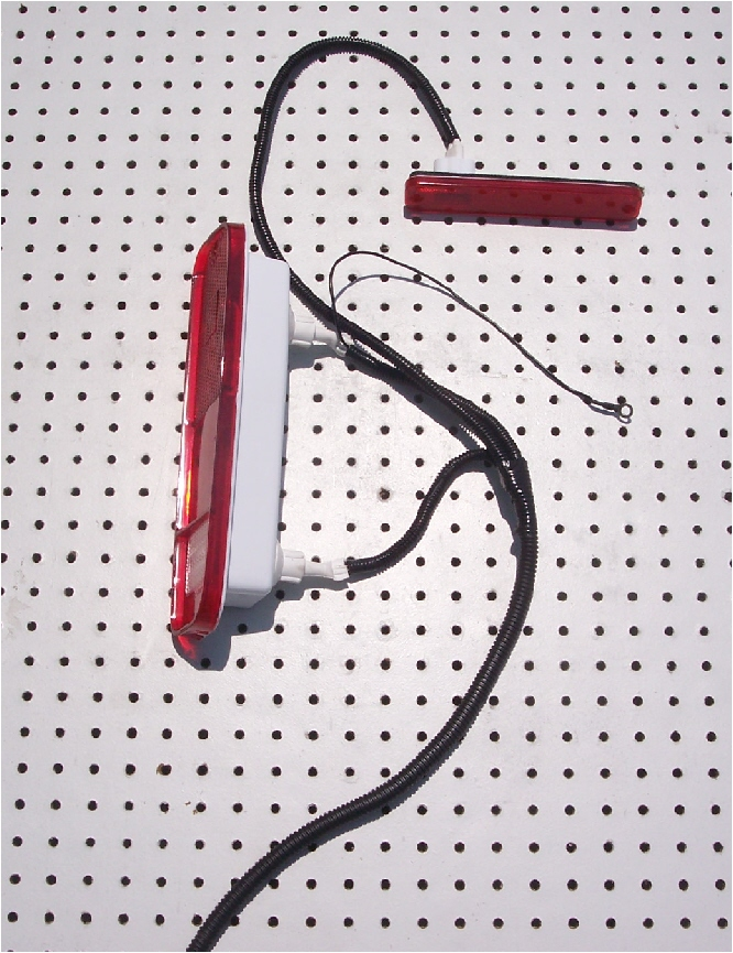 73 77 Ford Truck 78 79 Bronco Rear Tail Light Harness