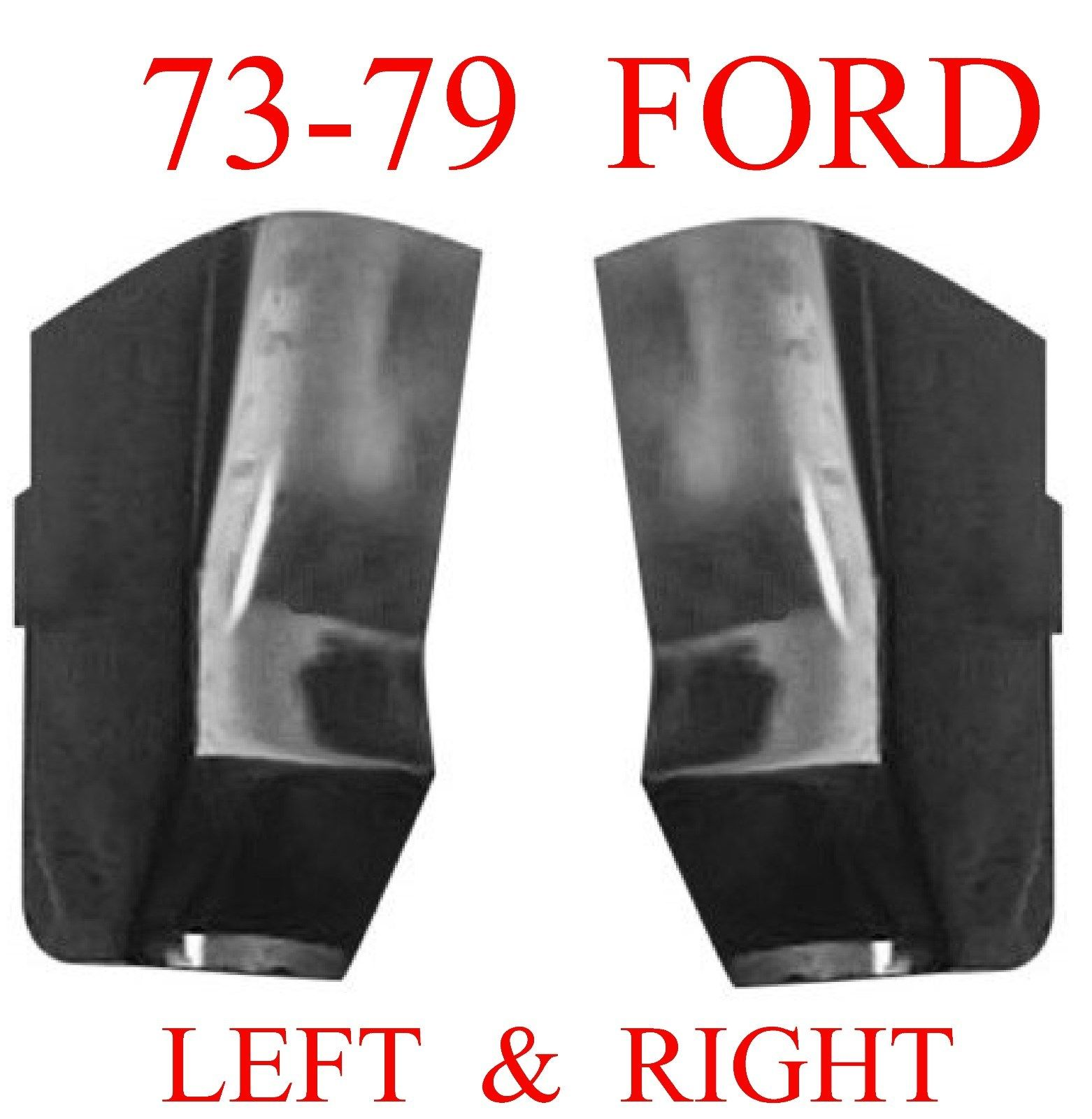 73-79 Ford Truck Cab Corner Set