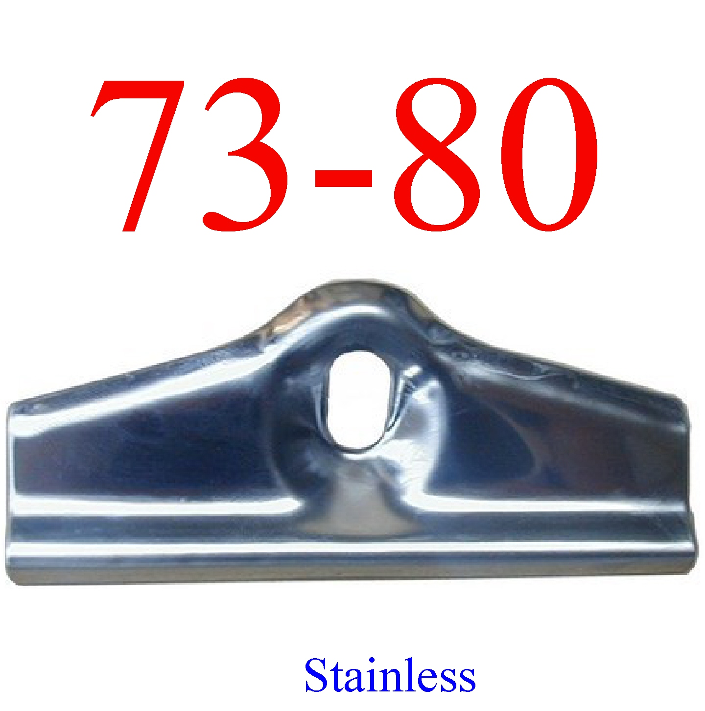 73-80 Stainless Chevy Battery Hold Down Bracket