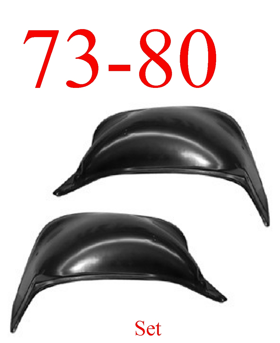 73-80 Chevy & GMC Inner Fender 2Pc Set
